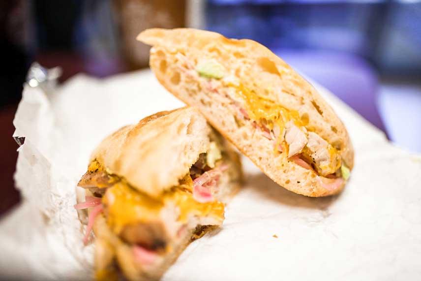 Number 1 Sandwich